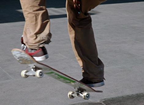 Skate utanför MACBA